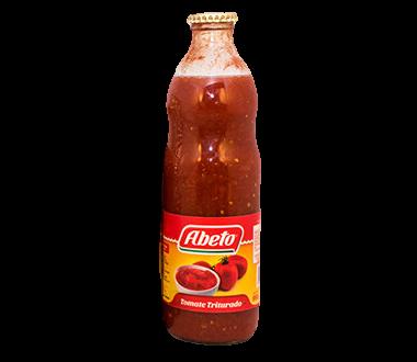 ABETO tomate triturado botella x1kg