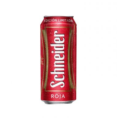 SCHNEIDER cerveza roja x473cc