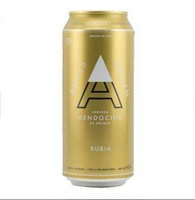 ANDES cerveza rubia x473cc