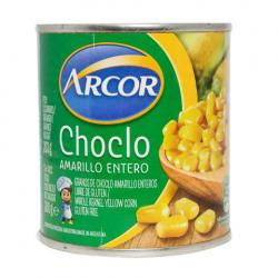 ARCOR choclo entero grano amarillo x300g