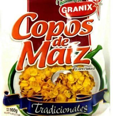 GRANIX copos cereal maiz x160g