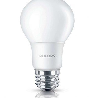 PHILIPS lampara led eco luz calida 7w.