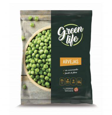 GREEN LIFE arvejas congelada x300g