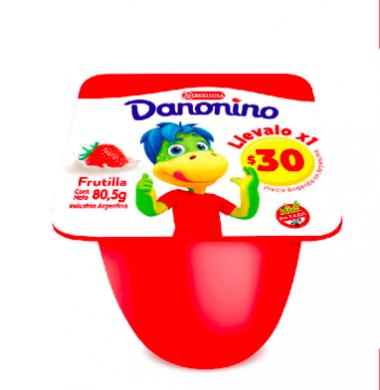 DANONINO yogur frut. x80.5g