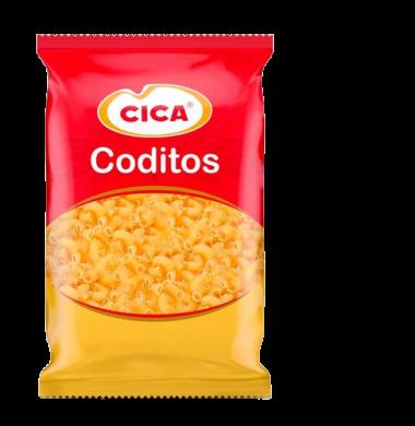 CICA fideos coditos x500g.