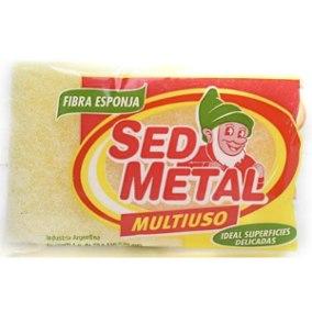 SED METAL esponja m/uso suave