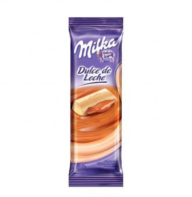 MILKA chocolate relleno dulce de leche x67.5g