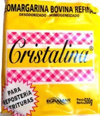 CRISTALINA grasa de vaca x500g