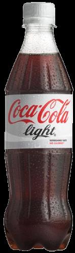 COCA cola light x500cc