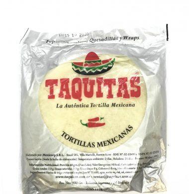 TAQUITAS tortillas mexicana x24Un.