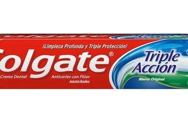 COLGATE crema dental 123 triple accion x70g.