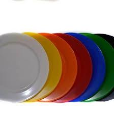 ECONO plato plastico colores x23cm.