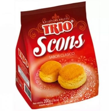 TRIO galletita scons x200g.