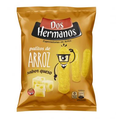 DOS HERMANOS palitos arroz queso x80Gra