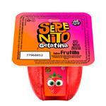 SERENITO gelatina frutilla x105g