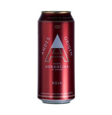 ANDES cerveza roja x473cc