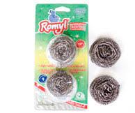 ROMYL esponja acero blister 2u.x15g.