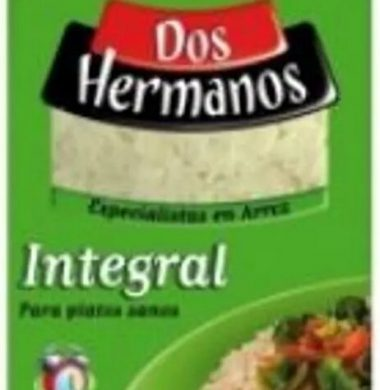 DOS HERMANOS arroz integral x1Kg