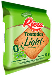 RIERA tost. light x200g
