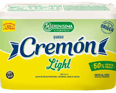 CREMON queso light fraccionado