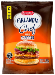 FINLANDIA queso feteado cheddar x150g