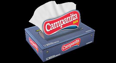 CAMPANITA panuelos box x75u.