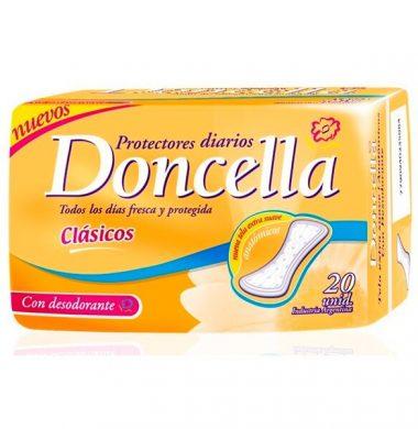 DONCELLA protector pocket con desodorante  x20u.