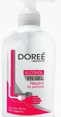 DOREE alcohol gel x300cc