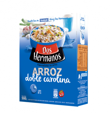 DOS HERMANOS arroz doble x500g