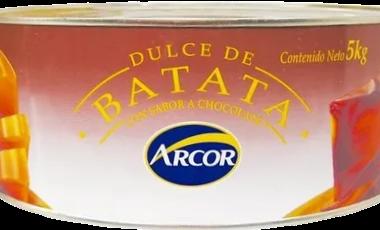 ARCOR dulce batata lata x5kg