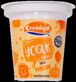 CREMIGAL yogur durazno x120g
