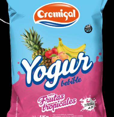 CREMIGAL yogur frutos tropicales x1lt