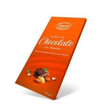 COPANI chocolate almendras x65Gra
