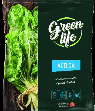 GREEN LIFE acelga congelada x500g