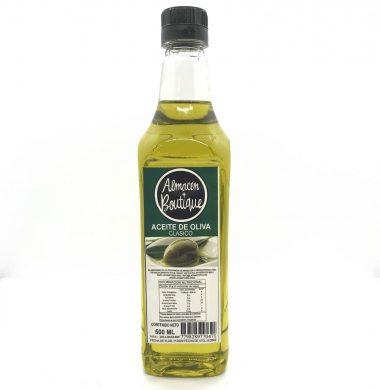 A.BOUTIQUE aceite oliva artesanal x500cc