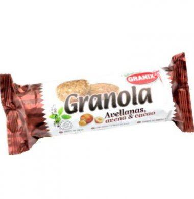 GRANIX galletita granola avellana/avena/cacao x142g.