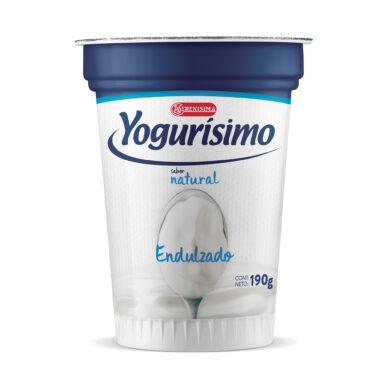 YOGURISIMO natural endulzado x190g