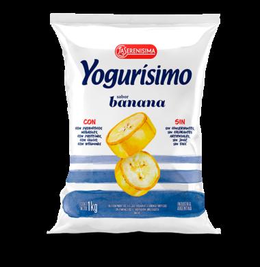 YOGURISIMO beb. banana x1lt.sachet