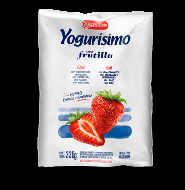 YOGURISIMO beb.sachet frutilla x220cc