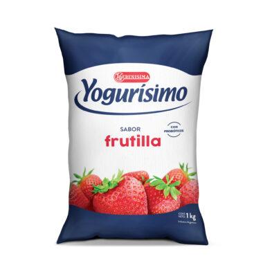 YOGURISIMO frutilla x1lt.sachet