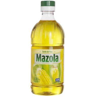 MAZOLA aceite maiz pet x500cc