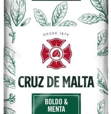 CRUZ MALTA yerba boldo/menta x500g