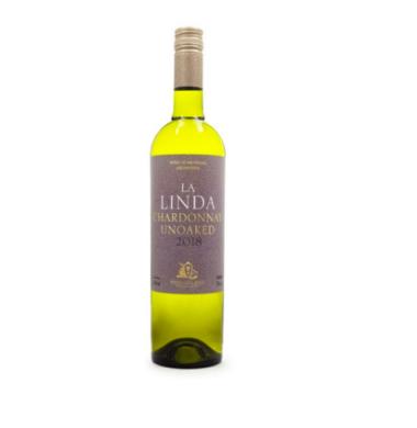 FINCA LA LINDA vino chardonay x750cc