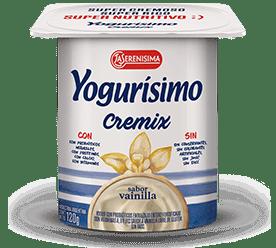 YOGURISIMO yogur cremix vainilla x120g