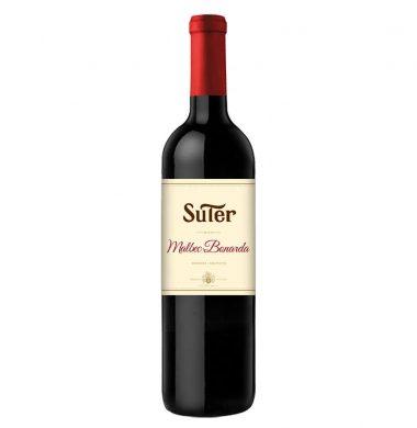 SUTER vino malbec bonarda x750cc