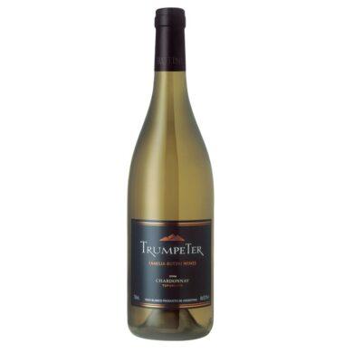 TRUMPETER vino chardonnay x750cc