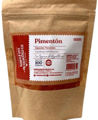 ESQUINA DE LAS FLORES condimento pimenton natural x100g