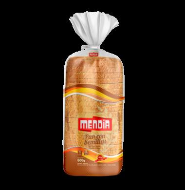 MENDIA pan multicereal x600g