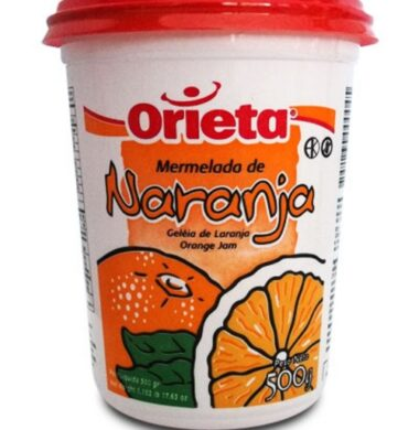 ORIETA mermelada naranja pote x500g