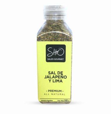 SHIO GOURMET sal de jalapeno y lima x185g.